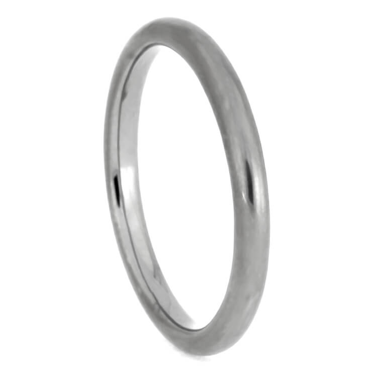 Round Sterling Silver Wedding Band, Size 7.25-RS9649 - Jewelry by Johan