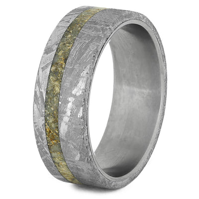 Meteorite Wedding Band