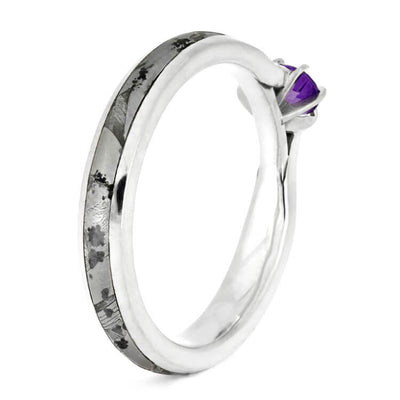 cut amethyst shop engagement frame rings ring silvet set asscher