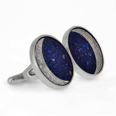 Custom Starry Night Cuff Links in Sterling Silver-1889 - Jewelry by Johan