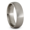 Solid Titanium Ring, Round Profile and Satin Finish-JIRMTA005924 - Jewelry by Johan