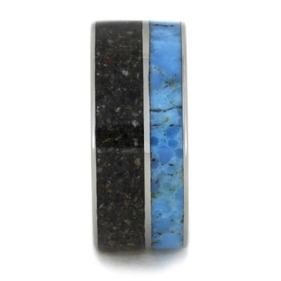 Pet Ashes Memorial Turquoise Titanium(2)