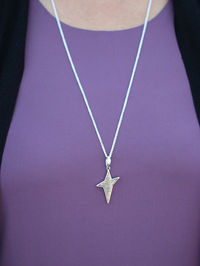 Meteorite Star Sterling Silver Rope Starborn_RSCATPEME158-NK (4)