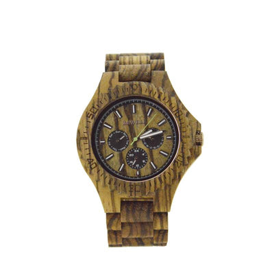 Wood Watch For Men or Women With Pink Tone