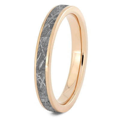 3mm Meteorite Ring for Woman