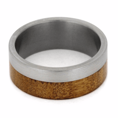 Kauri Wood Ring With Titanium Band (4)