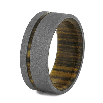 Wood Wedding Band
