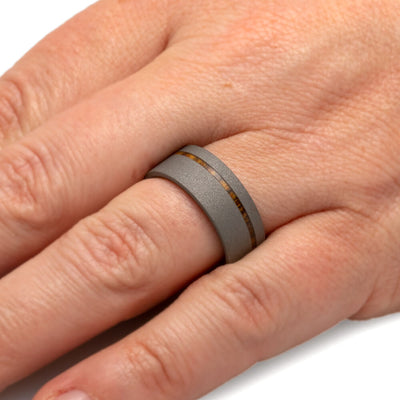 Bocote Wood Wedding Band