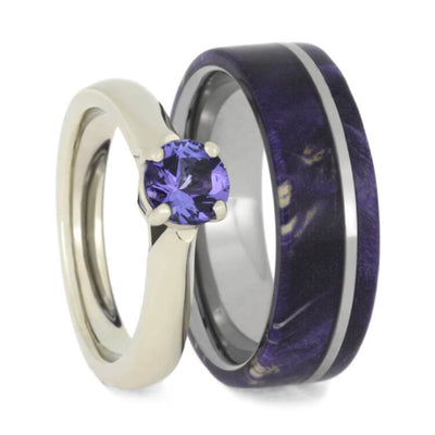 purple top grande nw blue tanzania natural tanzanite round grade gems r rich collections fine diamonds