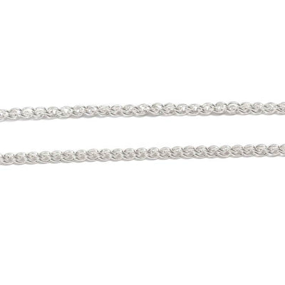 "30"" Authentic Meteorite Washer Necklace, In Stock-RSSB007"