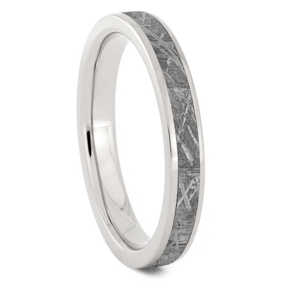 Women's Meteorite Ring in Titanium, In Stock-SIG3014 - Jewelry by Johan
