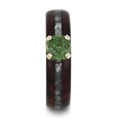 Peridot Mother of Pearl Bolivian Rosewood White Gold_1792 (2)