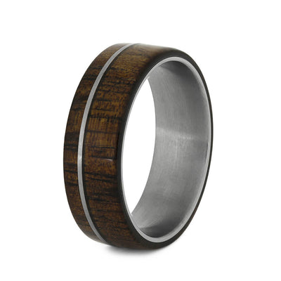 Men's Wood Wedding Band