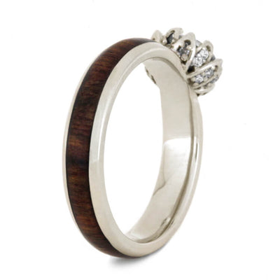 Moissanite Lotus Caribbean Rosewood 14k White Gold_3608 (3)