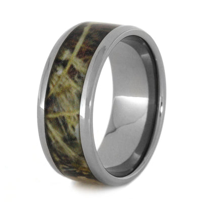Titanium Wedding Band With Camouflage Ring-3130 - Jewelry by Johan