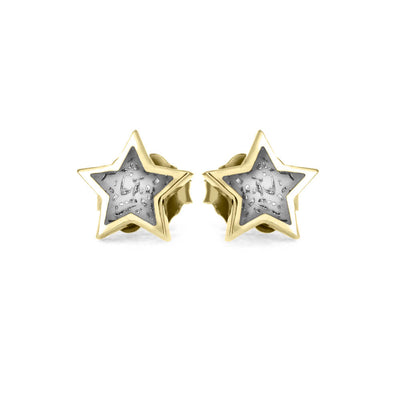 Stardust™ Stud Earrings In Yellow Gold-3522YG