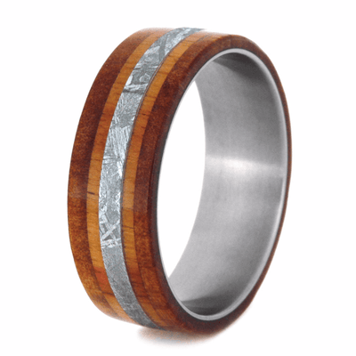 Meteorite Ring For Men