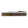 Whiskey Barrel Oak Wood Tie Clip-4503 - Jewelry by Johan