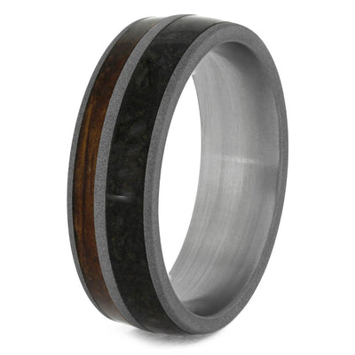 Men's Whiskey Barrel Oak Wood Rings