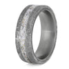 Stardust Meteorite Wedding Band for Men