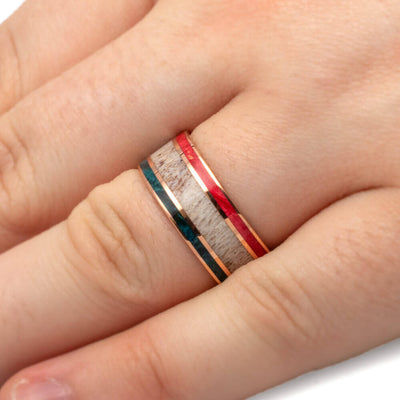 Patriotic Wedding Band