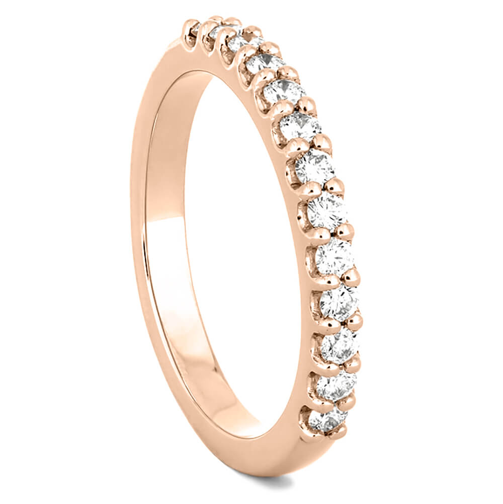 Eternity Diamond Women's Wedding Band in Rose Gold-4361RG - Jewelry by Johan