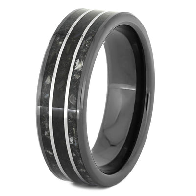 Black Ring With Ashes