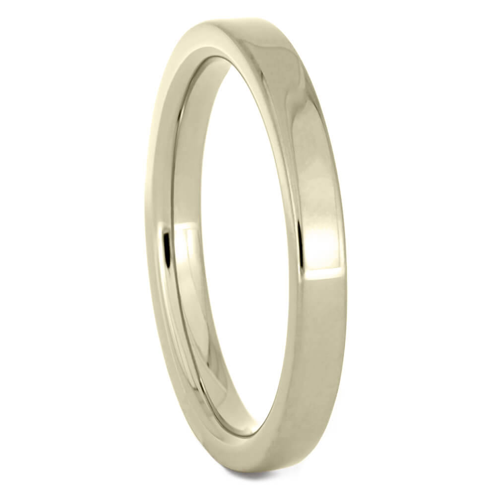 Thin 2mm White Gold Wedding Band-4428WG - Jewelry by Johan