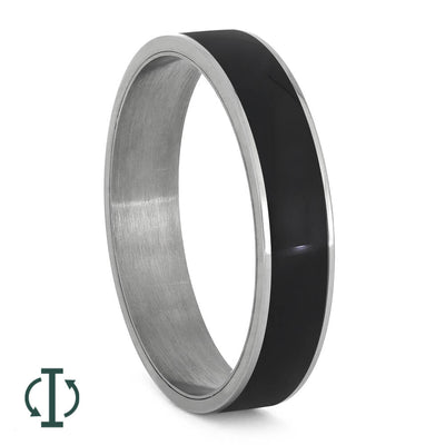 African Blackwood Interchangeable Ring Component