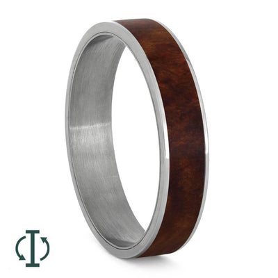 Coolibah Wood Component for Interchangeable Ring