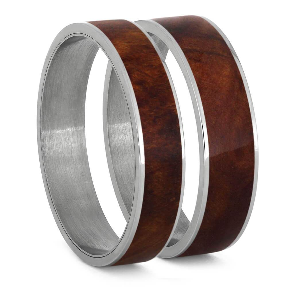 Coolibah Wood Inlays For Interchangeable Rings, 5MM or 6MM-INTCOMP-WDX - Jewelry by Johan