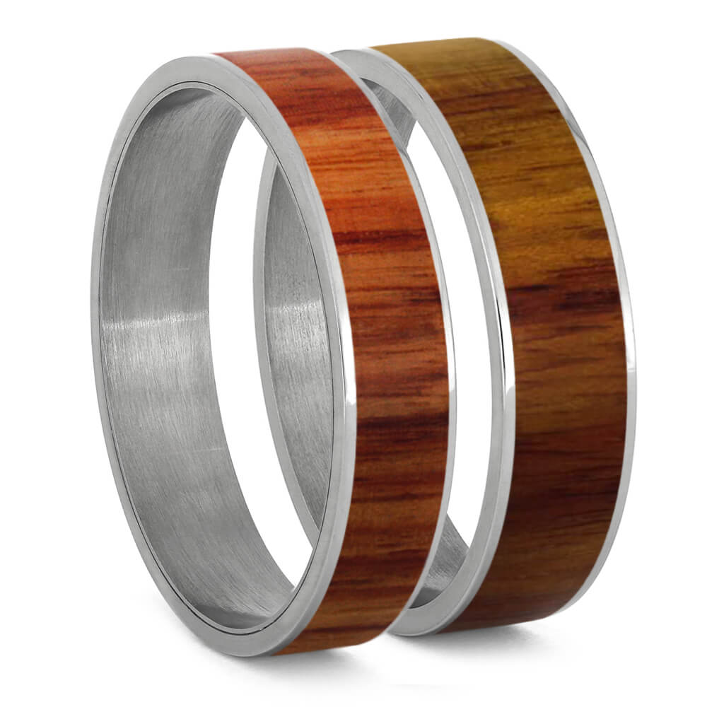 Tulipwood and Titanium Interchangeable Component