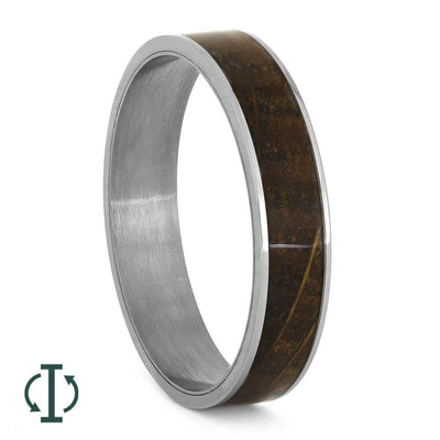 Whiskey Barrel Wood Inlays For Interchangeable Rings, 5MM or 6MM-INTCOMP-WDP - Jewelry by Johan