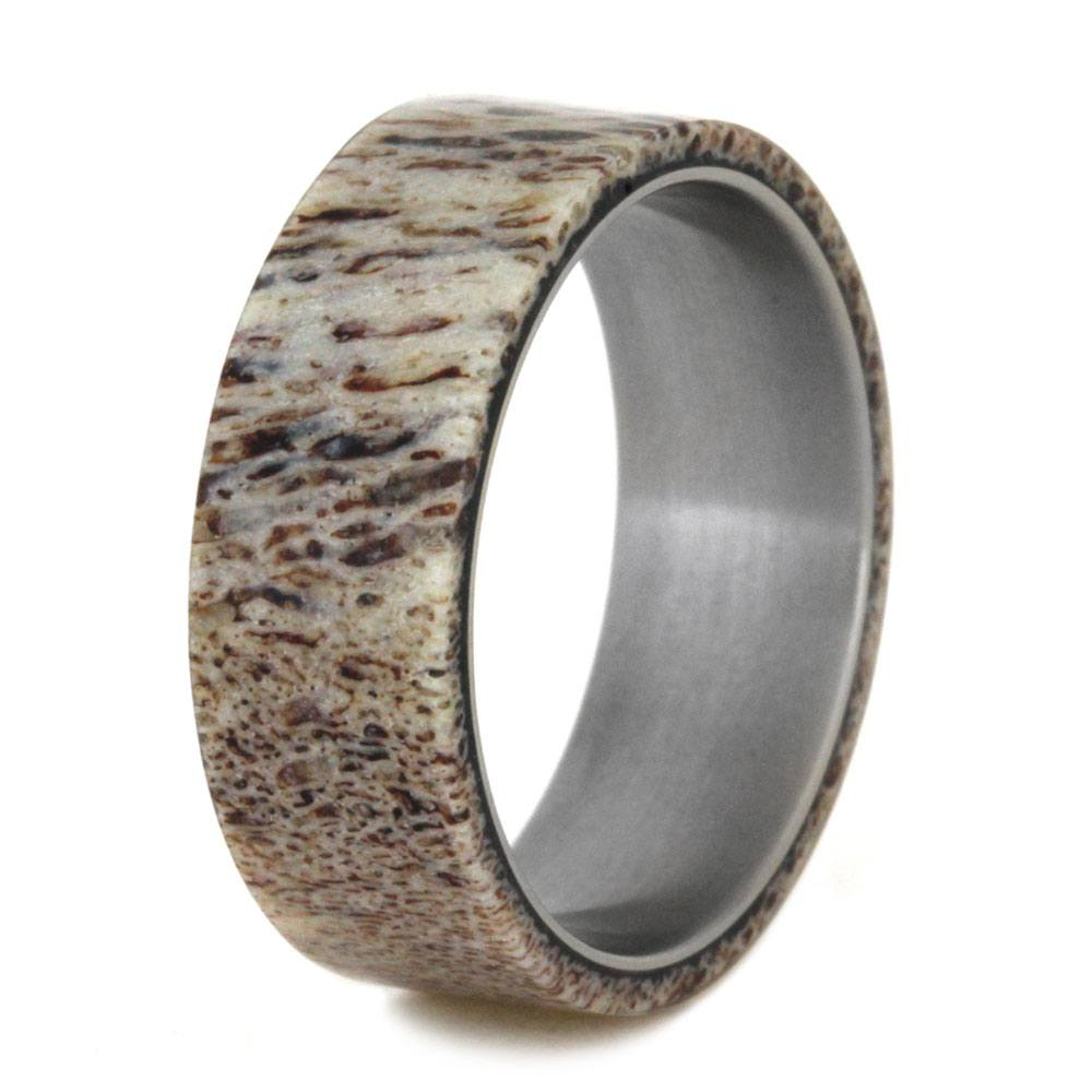 rings antler fullxfull il ebony zoom band deer ring wood and listing with wedding set