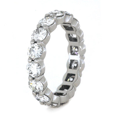 diamond bar ring wedding stone bands cut band set princess