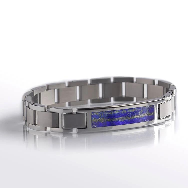 Blue Lapis Lazuli Interchangeable Bracelet, Made to Order-BR1007-2 - Jewelry by Johan