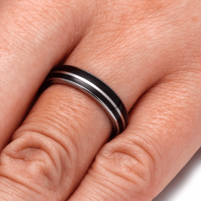 Dark Brazilian Rosewood Ring  (5)