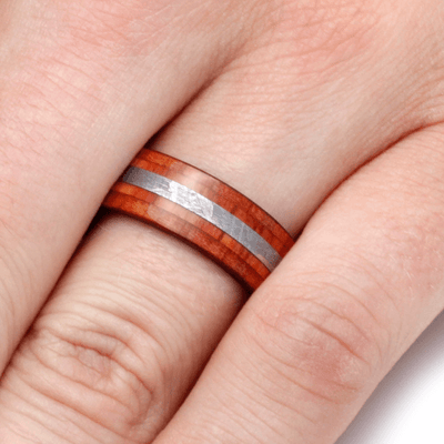 Tulipwood Wedding Ring