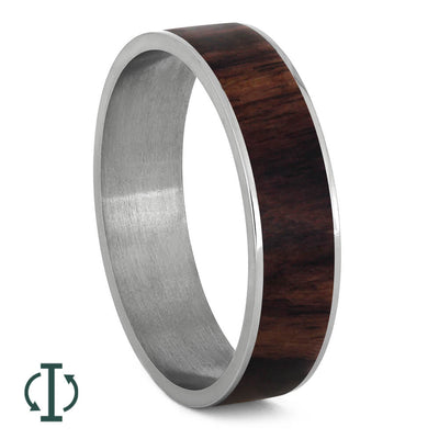 Exotic King Wood Inlays For Interchangeable Rings, 5MM or 6MM-INTCOMP-WDX - Jewelry by Johan