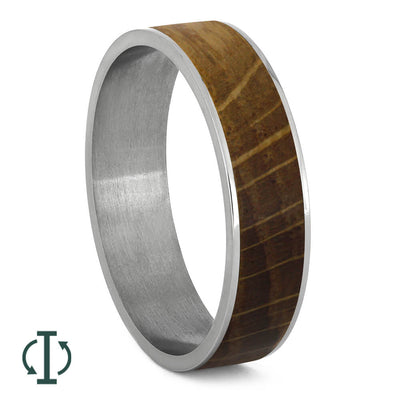 Oak Wood Inlays For Interchangeable Rings, 5MM or 6MM-INTCOMP-WD - Jewelry by Johan