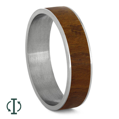 Queen Wood Inlays For Interchangeable Rings, 5MM or 6MM-INTCOMP-WD - Jewelry by Johan