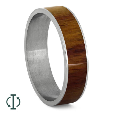 Exotic Tulipwood Inlays For Interchangeable Rings, 5MM or 6MM-INTCOMP-WDX - Jewelry by Johan