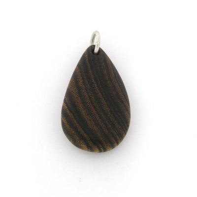 Bocote Tear Drop Wood Pendant(1)