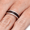 Sterling Silver Ring with Sindoar Wood (5)