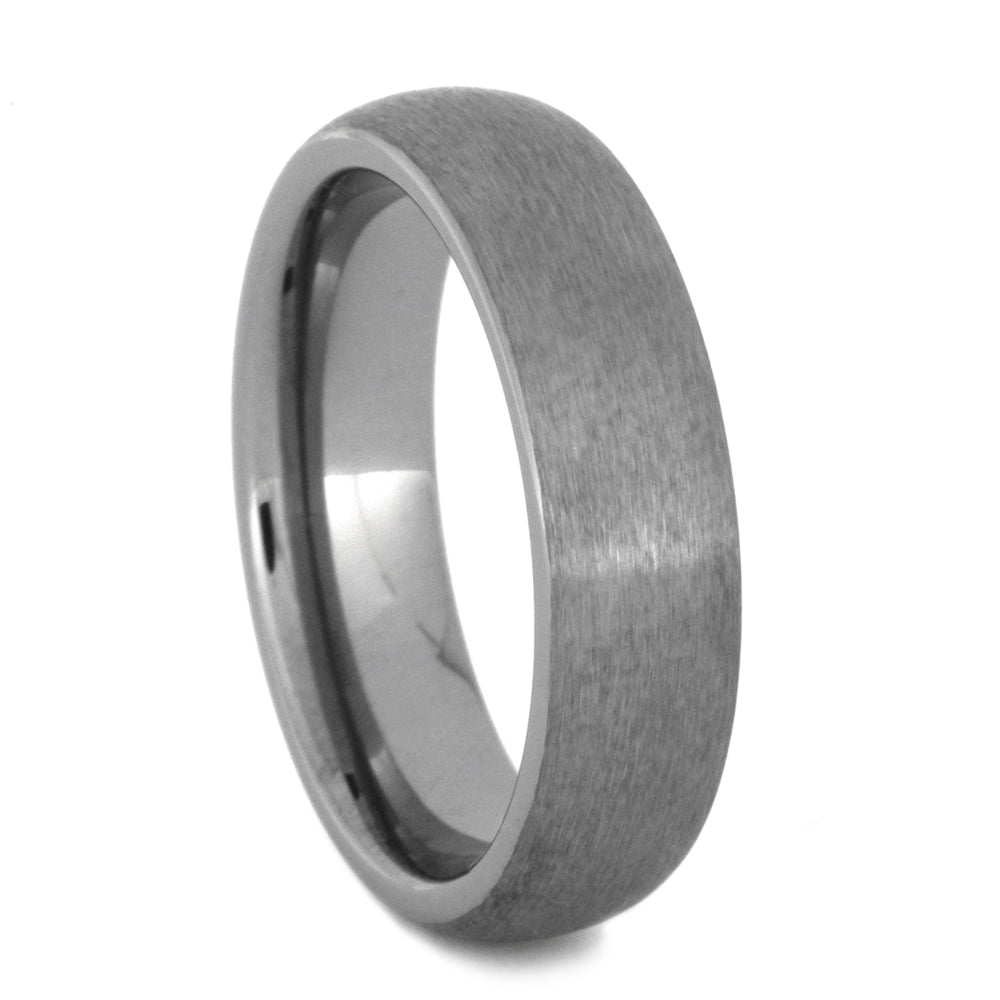 Brushed Round Satin Tungsten(1)