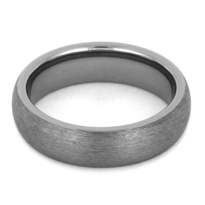 Tungsten Wedding Band With Satin Finish-2786 - Jewelry by Johan