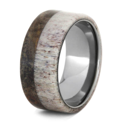 Burl Wood Men's Wedding Band