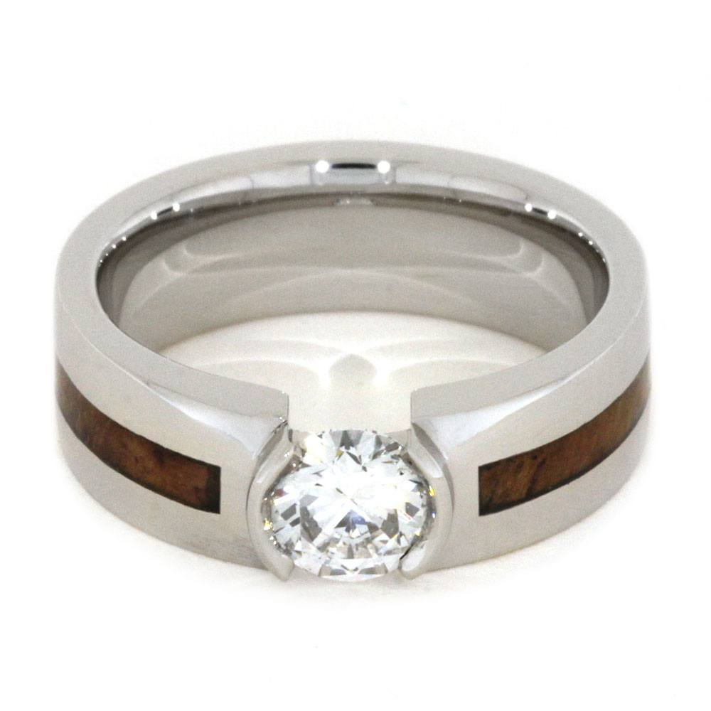 anniversary eternity platinum wood jewelry other band diamond rings teak ring wave crown