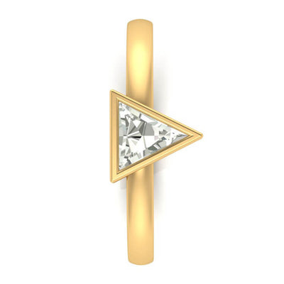 10k Yellow Gold Triangle Diamond_3510 (2)