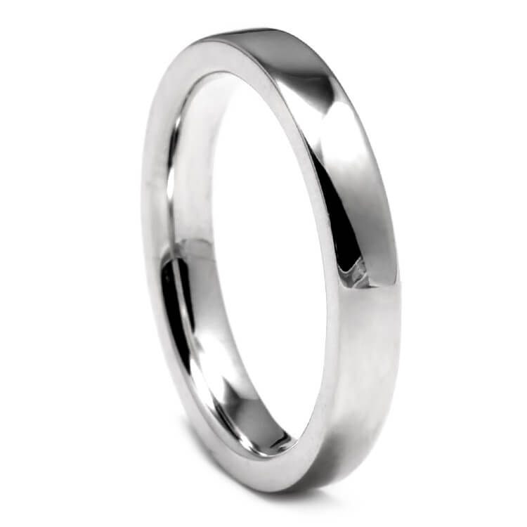 Thin Sterling Silver Wedding Band